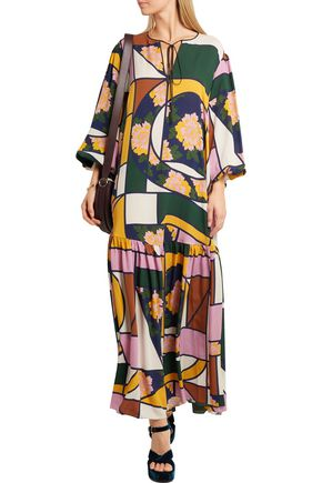 ROKSANDA Naomi printed silk maxi dress