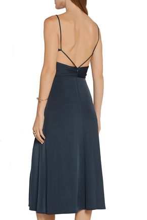 CUSHNIE ET OCHS The Gizelle cutout stretch-jersey dress