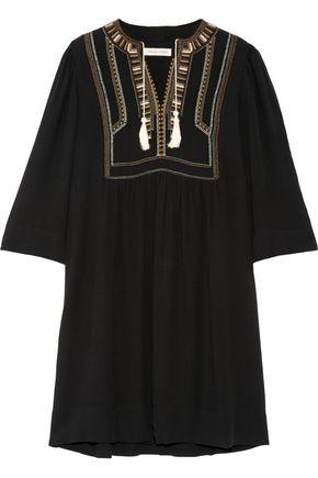 ISABEL MARANT ÉTOILE Clara embroidered crepe mini dress