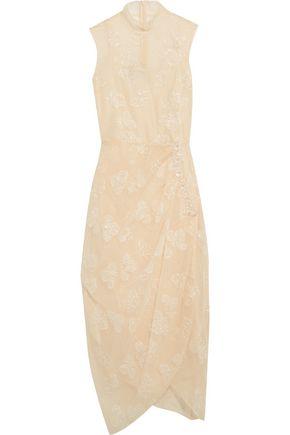 SIMONE ROCHA Gathered embellished tulle dress