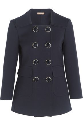 MICHAEL KORS COLLECTION Double-breasted wool-crepe blazer