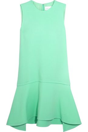 VICTORIA, VICTORIA BECKHAM Wool-crepe dress