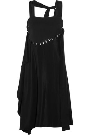3.1 PHILLIP LIM Embellished silk and wool-blend dress