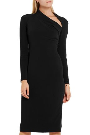 CUSHNIE ET OCHS Stella cutout stretch-cady dress