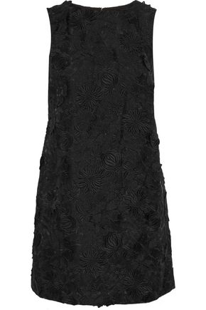 ALICE + OLIVIA Clyde embellished organza mini dress