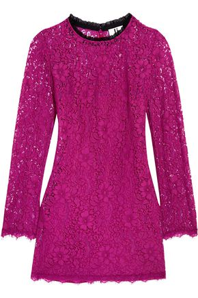 TOPSHOP UNIQUE Tybalt corded lace mini dress