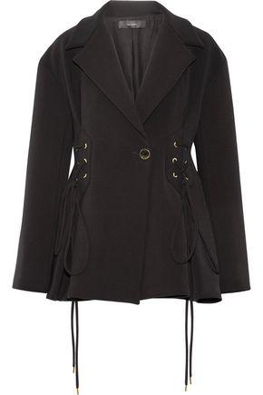 ELLERY Battleship lace-up twill jacket