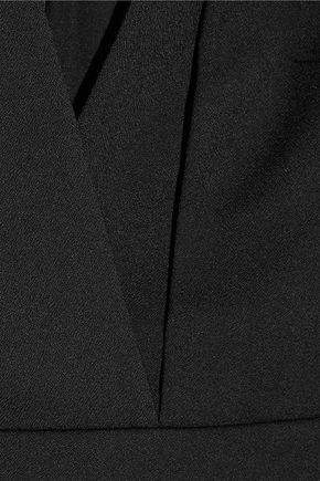 PROTAGONIST Wrap-effect cady dress