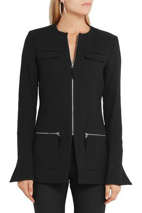 PROTAGONIST Stretch-wool crepe jacket