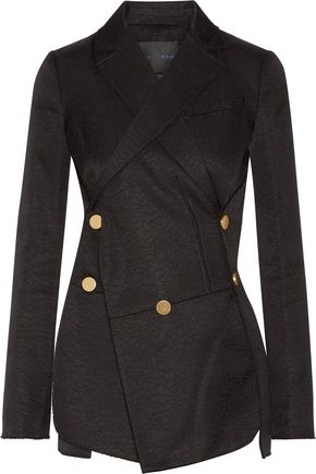 PROENZA SCHOULER Cotton and wool-blend jacquard blazer