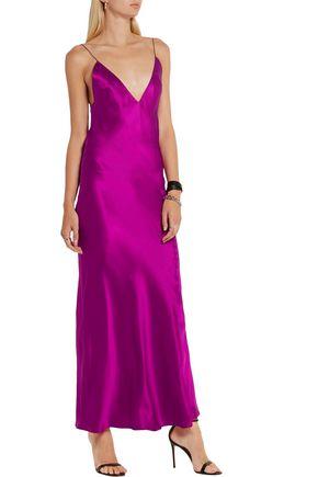 HAIDER ACKERMANN Silk-satin maxi dress