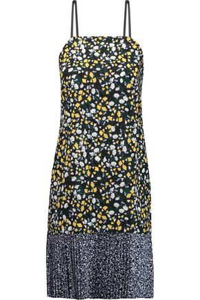 MOTHER OF PEARL Hollis printed silk dress