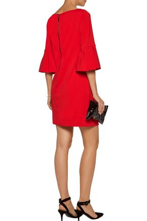 BADGLEY MISCHKA Stretch-crepe mini dress