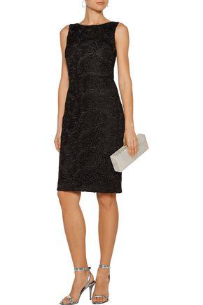BADGLEY MISCHKA Guipure lace dress