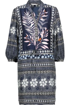 DIANE VON FURSTENBERG Chrystie printed silk mini dress