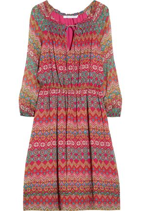 DIANE VON FURSTENBERG Parry printed silk-chiffon dress