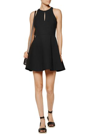 ELIZABETH AND JAMES Scout cutout cady mini dress