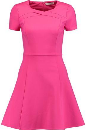 HALSTON HERITAGE Stretch-ponte mini dress