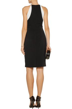 BADGLEY MISCHKA Kate stretch-crepe dress
