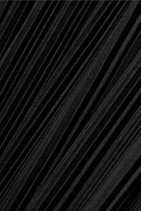 ALEXANDER WANG Cutout plissé-jersey gown
