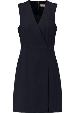 TORY BURCH Stretch-wool piqué mini dress