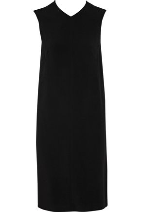 JOSEPH Tom crepe and silk crepe de chine dress