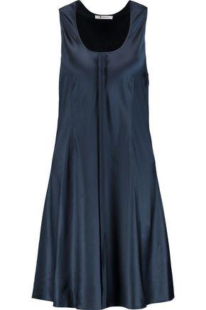 T by ALEXANDER WANG Stretch silk-satin dress