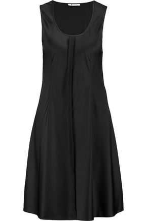 T by ALEXANDER WANG Stretch silk-satin dress