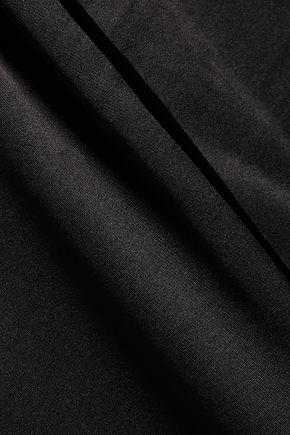 T by ALEXANDER WANG Silk-blend satin maxi dress