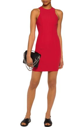 T by ALEXANDER WANG Stretch-crepe mini dress