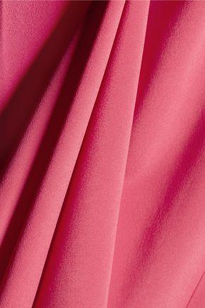 L'AGENCE Elsa cutout stretch-silk gown