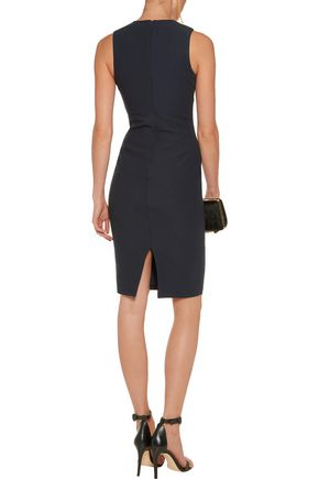 ELIZABETH AND JAMES Sapphire cutout crepe dress