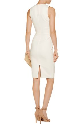 ELIZABETH AND JAMES Sapphire cutout cady dress