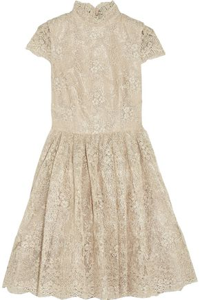 ALICE + OLIVIA Natalina lace mini dress