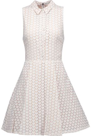 ALICE+OLIVIA Elly printed chiffon mini dress