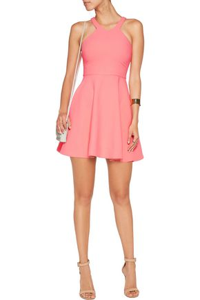ELIZABETH AND JAMES Sonya crepe mini dress