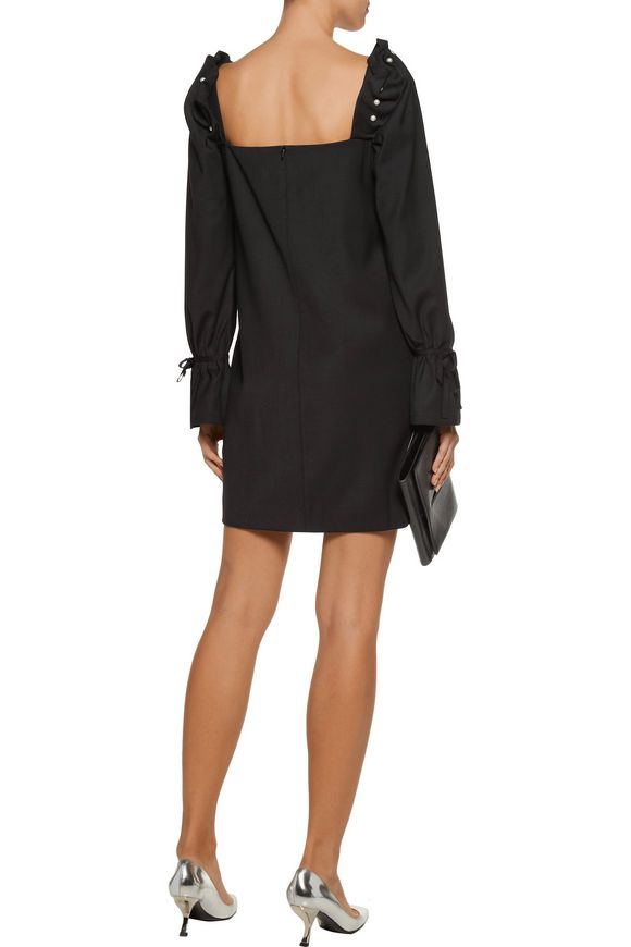 Savannah faux pearl-embellished crepe mini dress | MOTHER OF PEARL | Sale  up to 70% off | THE OUTNET