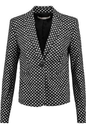 DIANE VON FURSTENBERG Jennie printed twill blazer