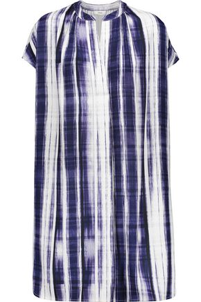 VINCE. Striped cady dress