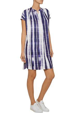 VINCE. Striped cady dress