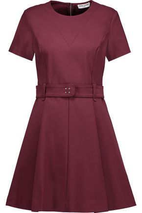 OPENING CEREMONY Belted cotton-blend mini dress