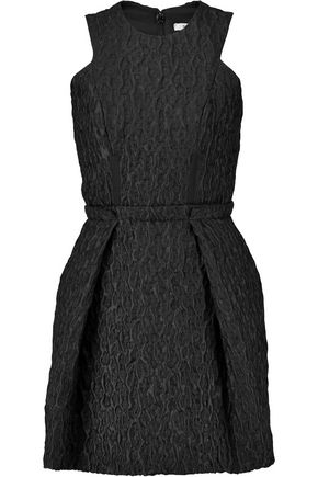 CARVEN Cloqué mini dress