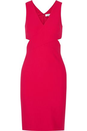 ELIZABETH AND JAMES Aldridge cutout stretch-ponte dress