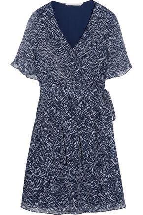 fa072626977 DIANE VON FURSTENBERG Katina chiffon silk wrap dress
