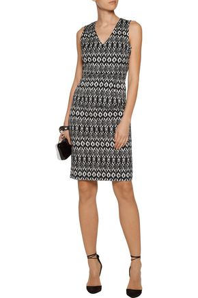 DIANE VON FURSTENBERG Trisha printed cotton-blend mini dress