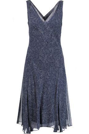 DIANE VON FURSTENBERG Dita printed silk-georgette dress