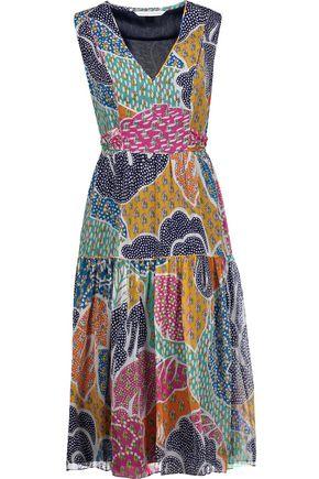 DIANE VON FURSTENBERG Vanya printed silk crepe de chine dress