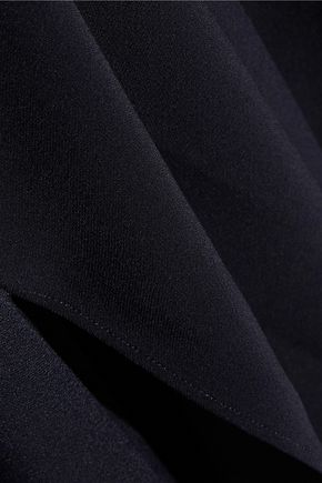 HELMUT LANG Asymmetric crepe midi slip dress