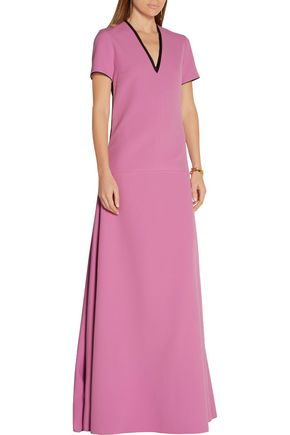 ROKSANDA Two-tone crepe maxi dress