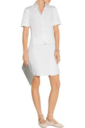 JASON WU Stretch-cotton poplin shirt dress